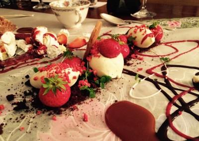 Dessert Strawbery cheese cake